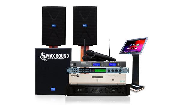 Cục đẩy công suất 2 kênh giúp âm thanh dàn karaoke thêm phần mạnh mẽ và sắc nét