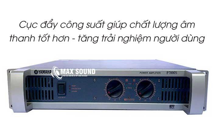 Cục đẩy công suất giúp tăng chât lượng âm thanh