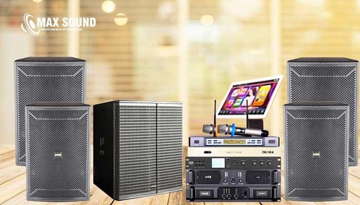 Cục đẩy công suất karaoke gia đình là thiết bị quan trọng