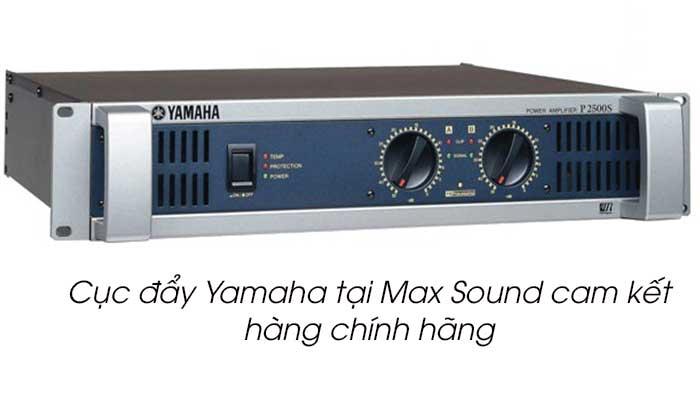 Cục đẩy Yamaha tại Max Sound
