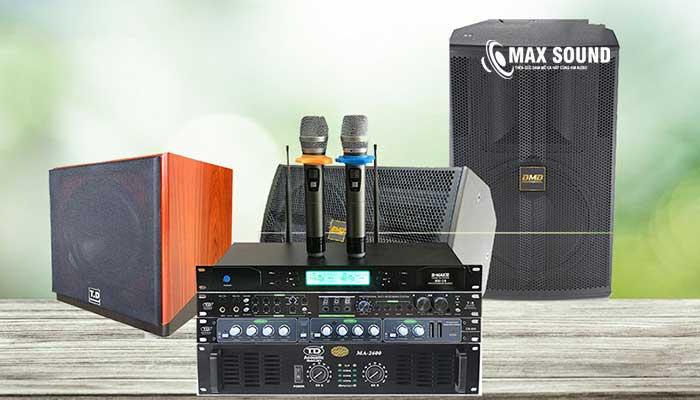 Dàn karaoke gia đình dưới 10 triệu có thiết bị đơn giản