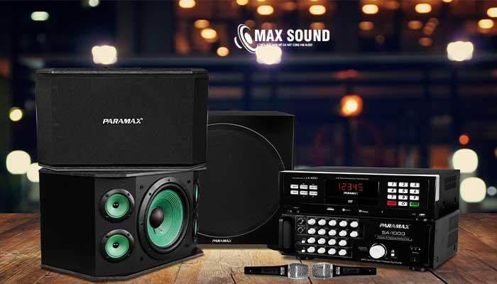 Dàn karaoke gia đình chất lượng giá tốt tại Max Sound