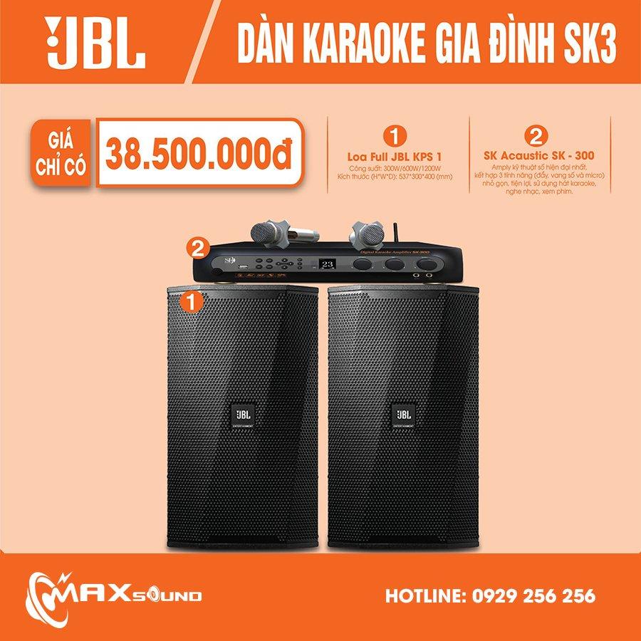 Dàn karaoke gia đình SK3 giá tốt chất lượng vượt trội
