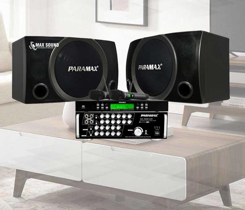 Dàn karaoke gia đình Paramax hiệu chỉnh dễ dàng