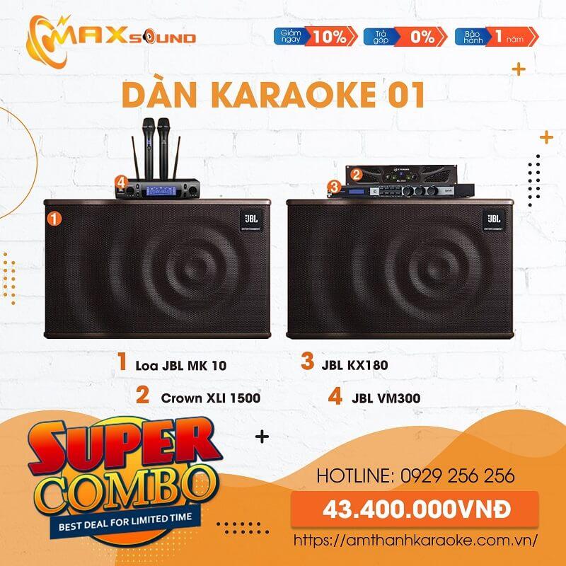 Dàn karaoke gia đình tại Max Sound