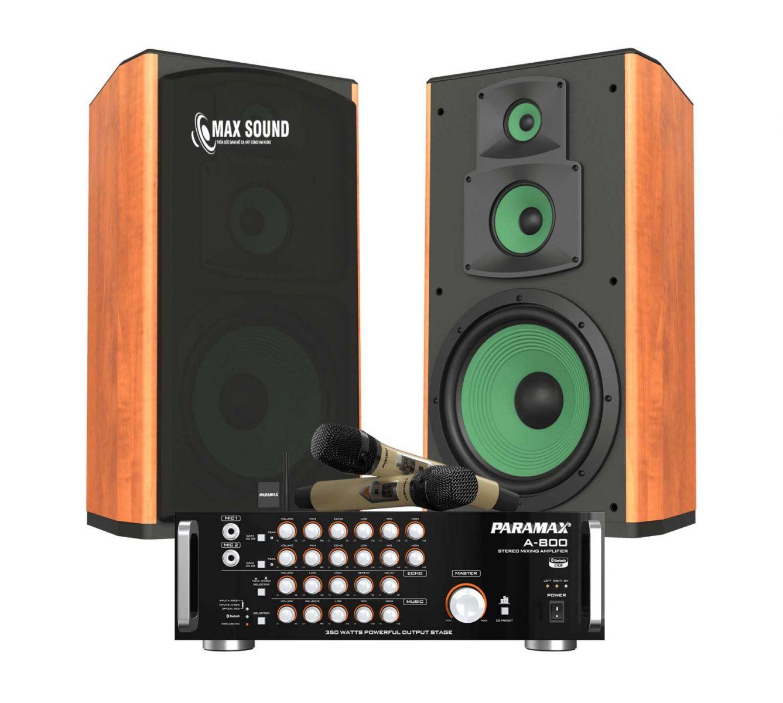 Dàn karaoke Paramax quy tụ những thiết bị chất lượng đỉnh cao