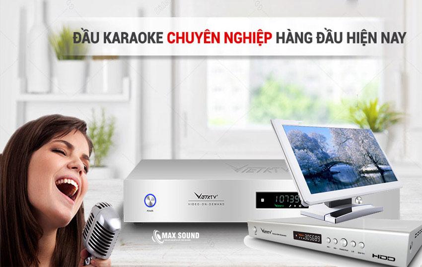 Đầu karaoke VietKTV chinh phục thành công người dùng Việt