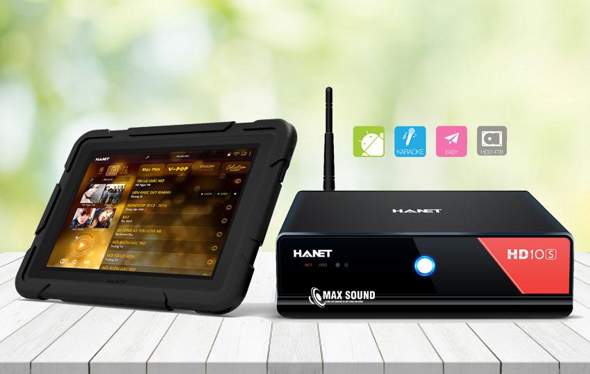 Đầu karaoke Hanet sở hữu nhiều ưu điểm, giá bán chỉ từ 2 triệu