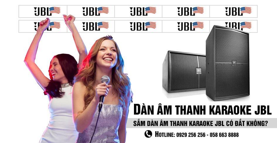 dàn âm thanh karaoke jbl có đắt không