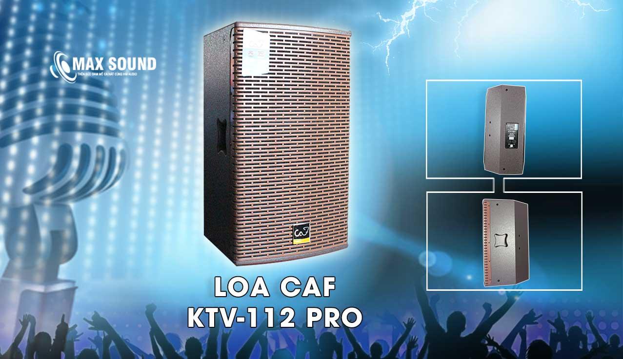Loa CAF KTV-112 Pro bass 30