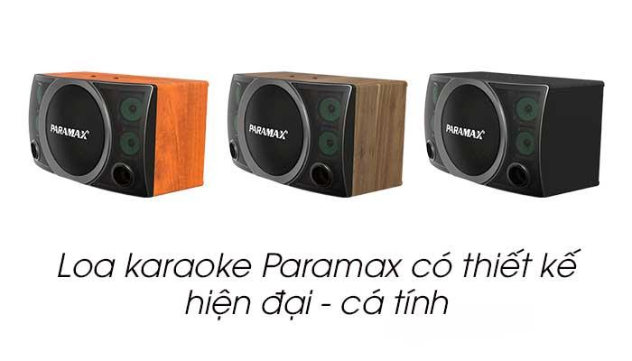 Loa Paramax có thiết kế hiện đại và cá tính
