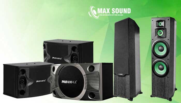 Loa Paramax thương hiệu Việt chất lượng đỉnh cao