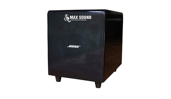 Loa sub Bose có khả năng tạo dải âm trầm cực chuẩn