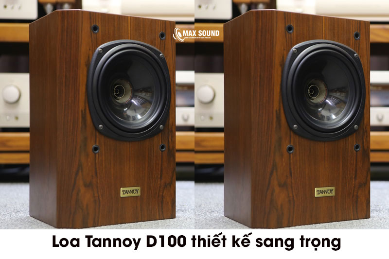Loa Tannoy D100 có thiết kế sang trọng