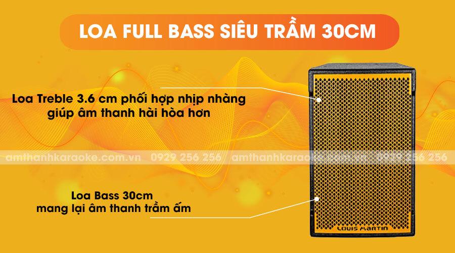 Loa Martin Full Bass 30cm Ktwo 12