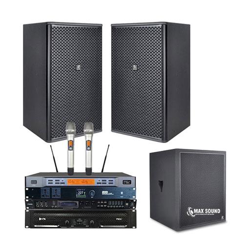 Max Sound phân phối dàn karaoke chuyên nghiệp, cam kết chất lượng đỉnh cao