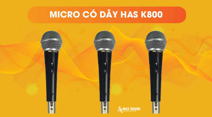 Mic hát có dây được đánh giá cao về chất lượng âm thanh
