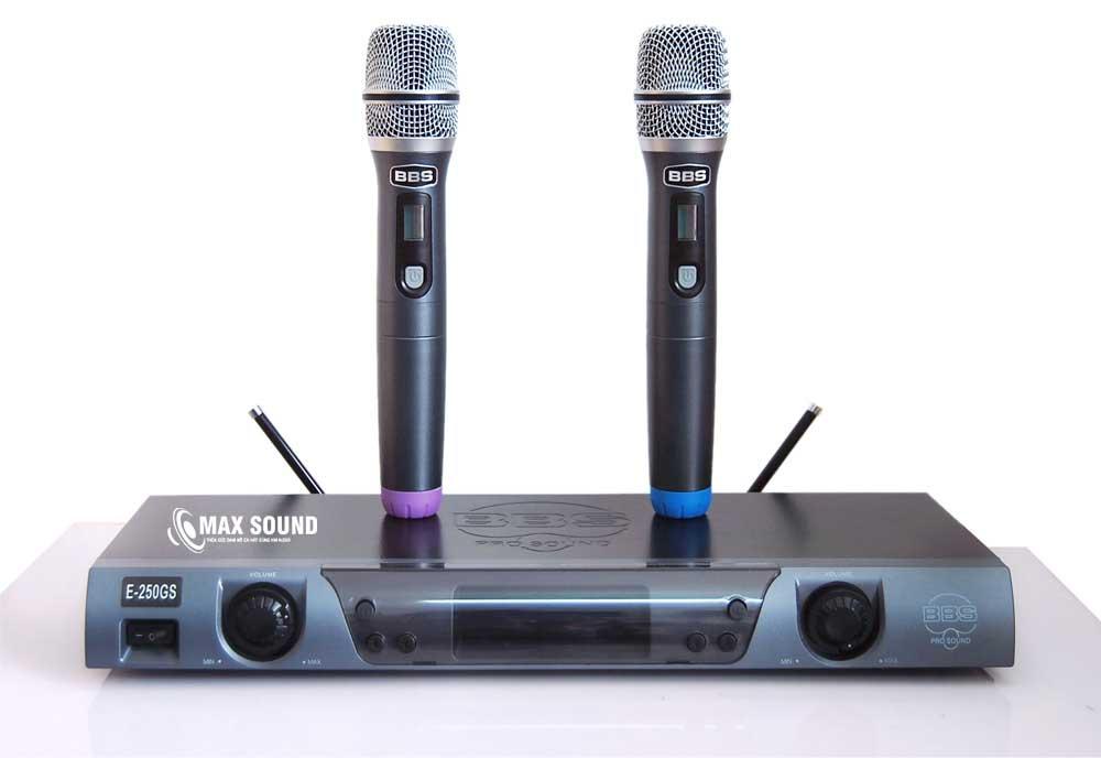 Micro karaoke tại Max Sound đa dạng thương hiệu