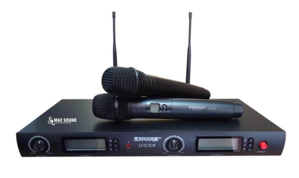 Micro karaoke tại Max Sound là micro thế hệ mới