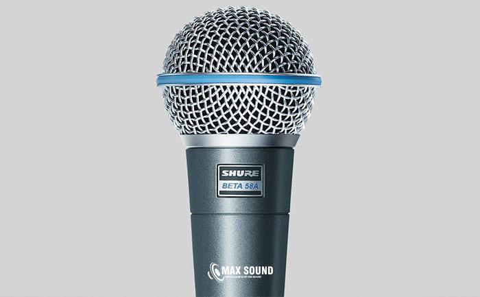 Micro Shure chính hãng là lựa chọn tuyệt vời cho âm thanh chuyên nghiệp