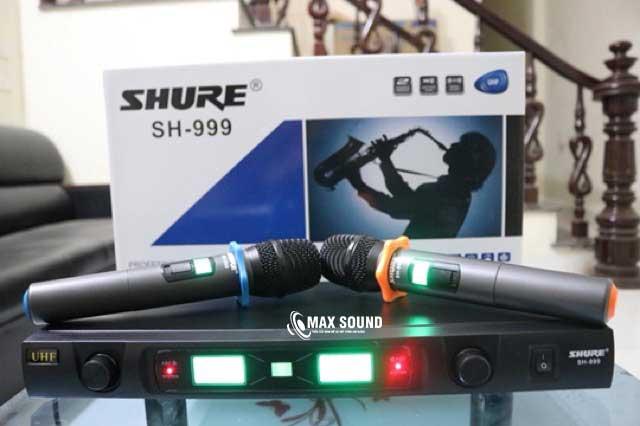 Micro Shure SH 999 sở hữu nhiều tính năng ưu việt