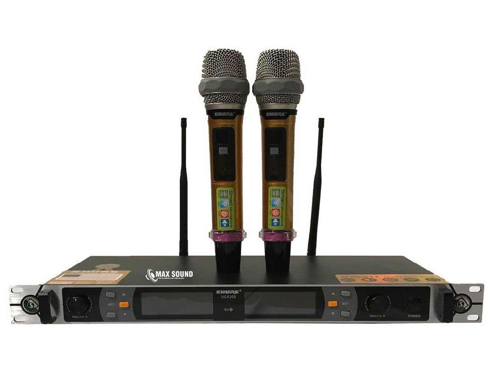 Micro Shure thu phát sóng ổn định