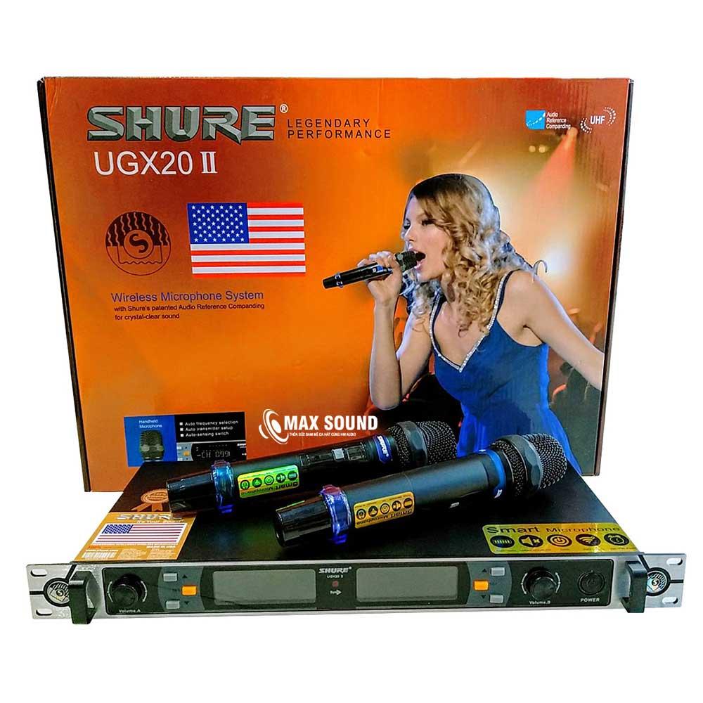 Micro Shure còn trang bị nhiều công nghệ hiện đại