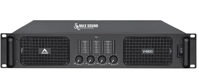 Max Sound có chế độ hậu mãi tốt khi mua cục đẩy công suất