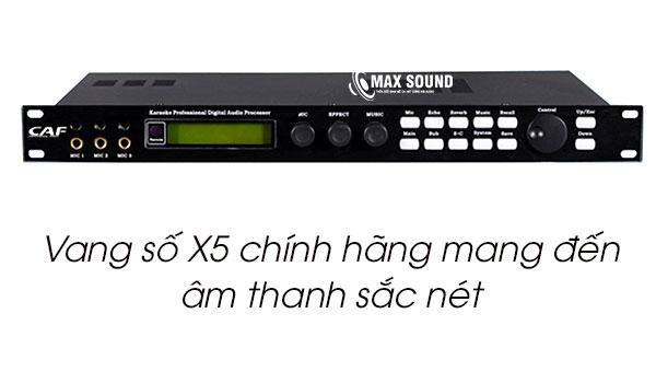 Vang số x5 chính hãng sẽ mang đến âm thanh sắc nét