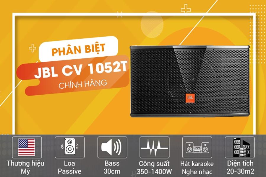 Giới thiệu loa JBL CV-1052T chính hãng