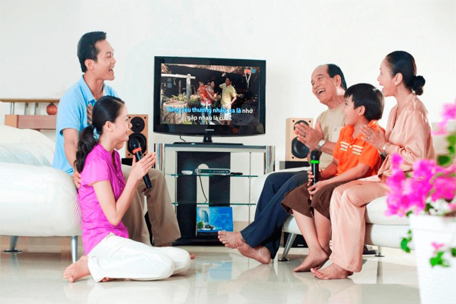 Karaoke gia đình