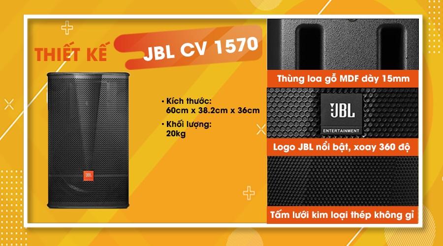 Thiết kế loa JBL CV-1570
