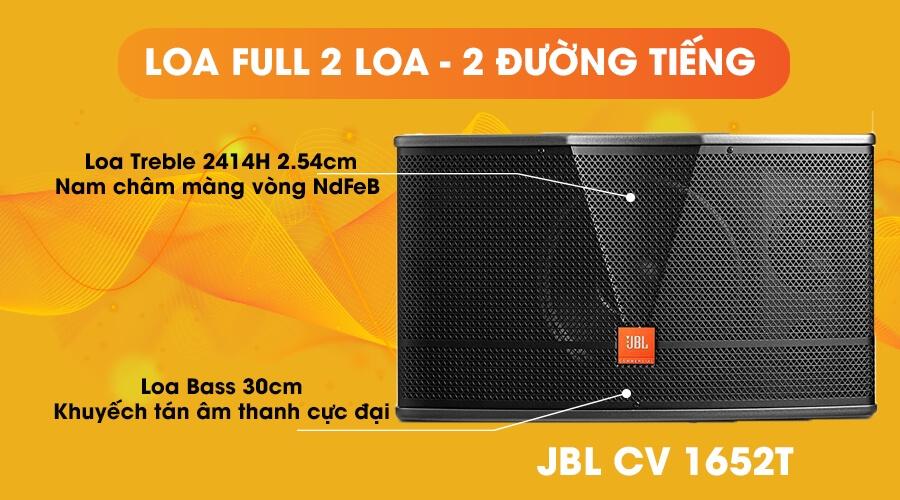 Loa JBL CV-1652T full 2 loa 2 đường tiếng