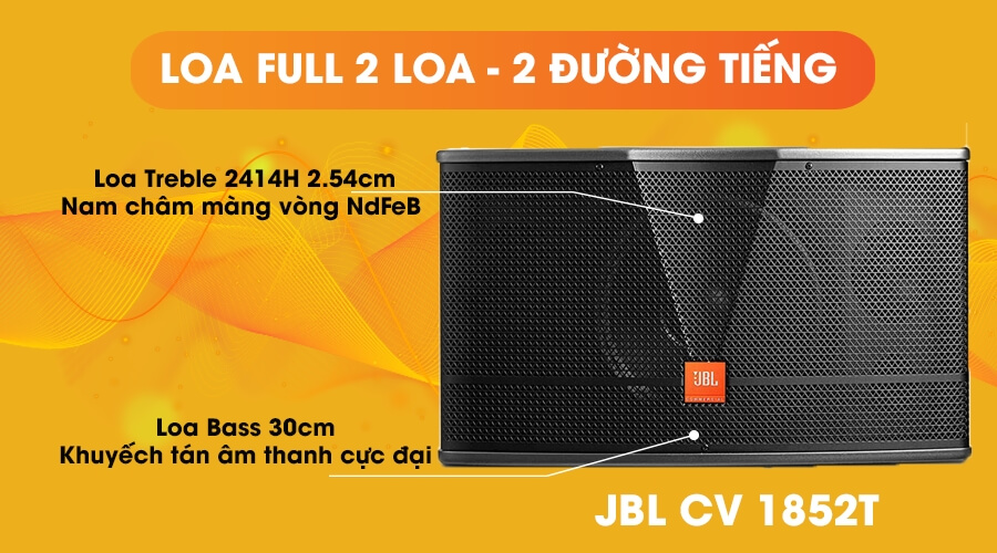 Loa JBL CV1852T full 2 loa 2 đường tiếng