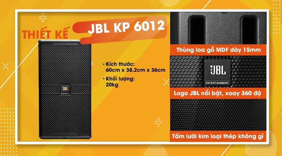 Thiết kế loa JBL KP-6012