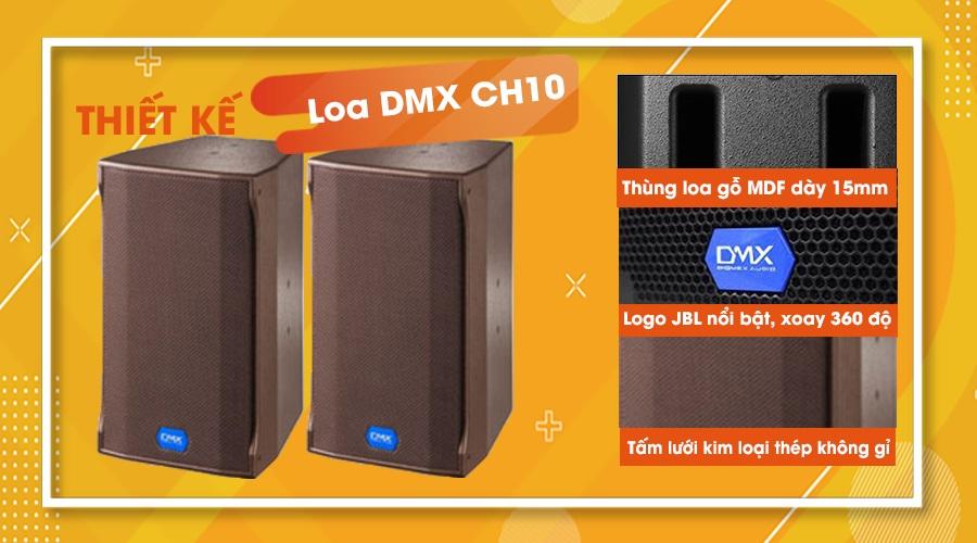 Thiết kế loa DMX CH10