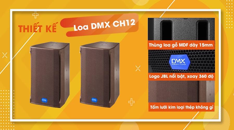 Thiết kế loa DMX CH12