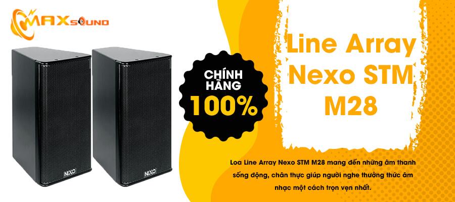 Loa Line Array Nexo STM-M28 chính hãng