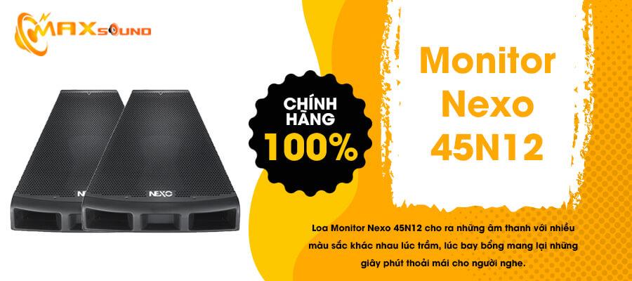 Loa Monitor Nexo 45N12 chính hãng