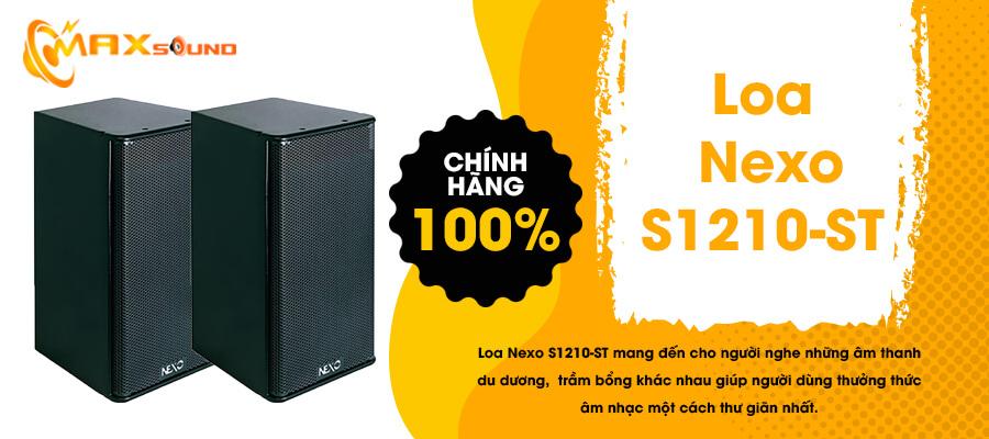 Loa Nexo S1210-ST chính hãng