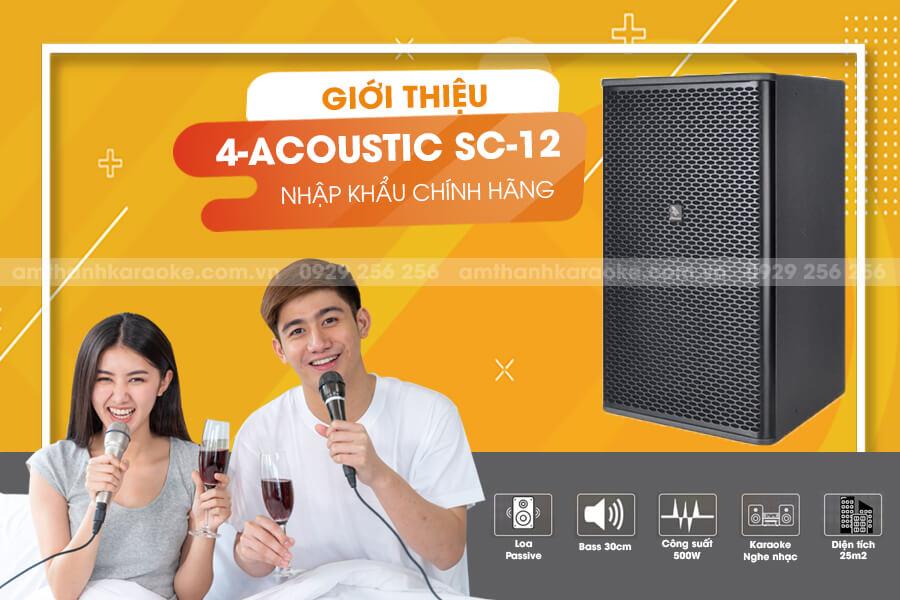 Loa 4 acoustic SC12