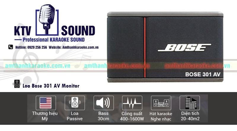 Loa Bose 301 AV chính hãng