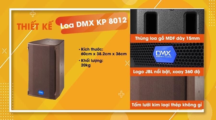 Thiết kế loa DMX KP-8012