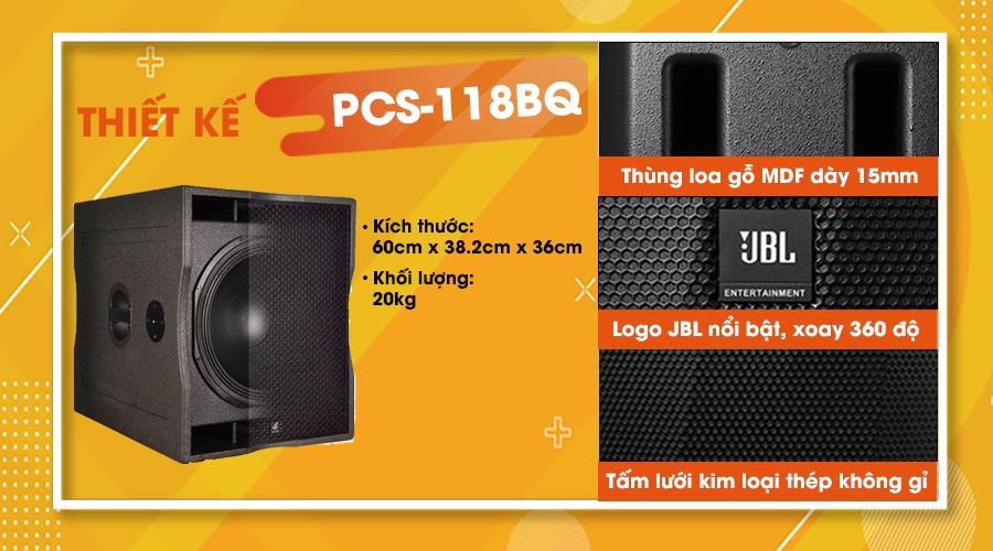 Loa sub 4 Acoustic PCS 118BQ