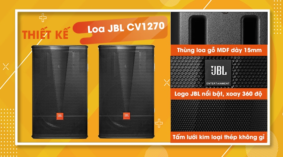 Thiết kế loa JBL CV-1270
