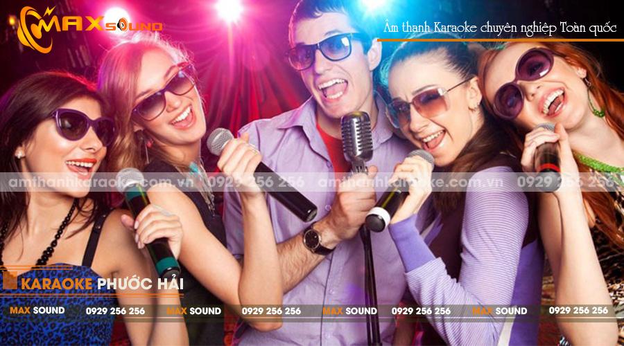 âm thanh karaoke cực chuẩn - hát cực hay