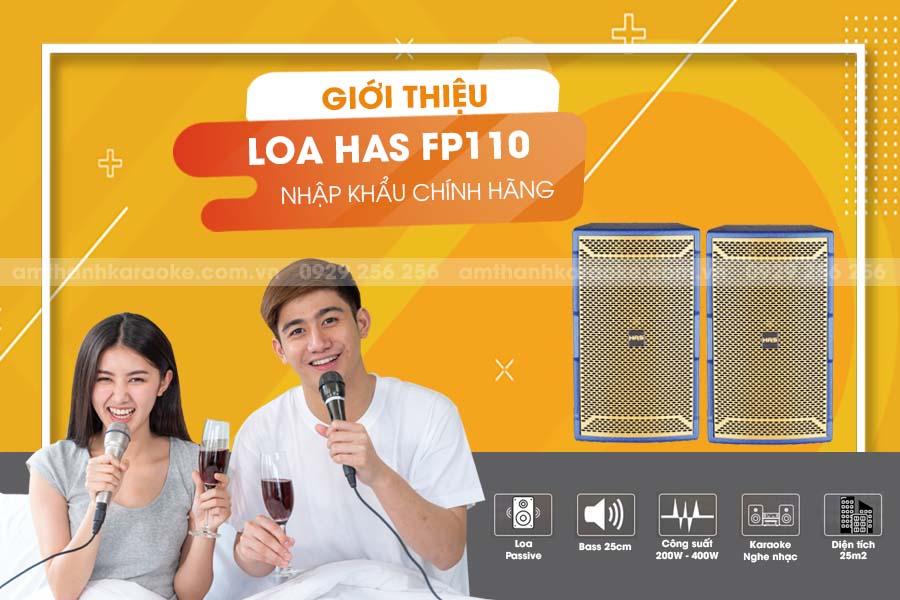 Giới thiệu Loa HAS FP-110