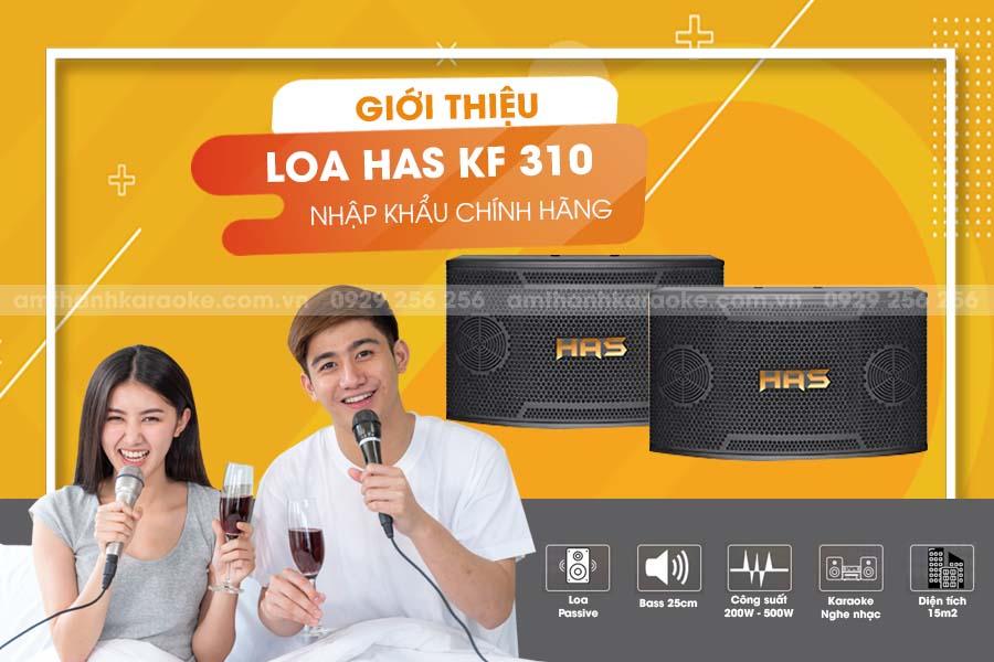 Loa HAS KF-310 chính hãng