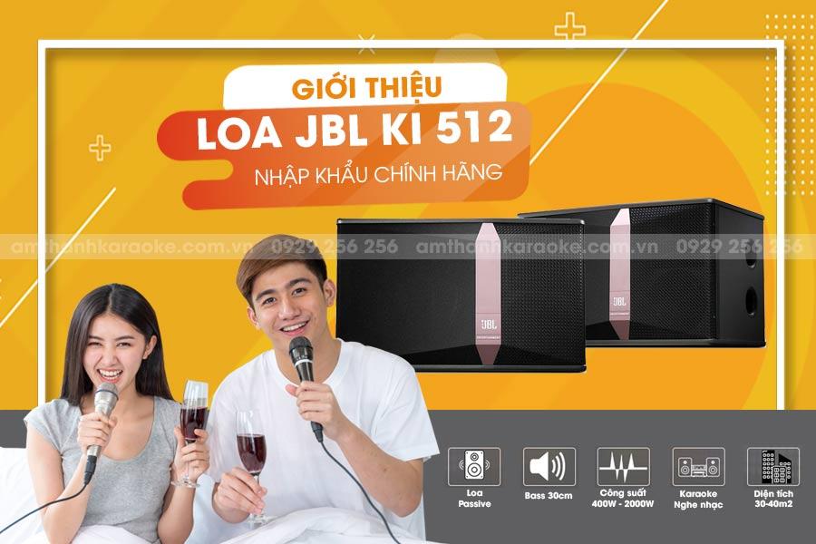 Loa loa JBL KI-512 chính hãng