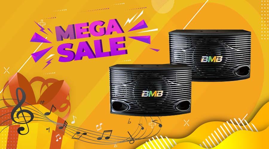 Banner Mega Sale tại Max Sound